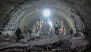 Ilgaz Tüneli'nde sona yaklaşılıyor