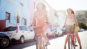 Kadınlara kanserden korunma için bisiklet önerisi