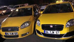 Taksicinin evine gelen trafik cezalarının sırrı çözüldü; ikiz plaka