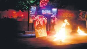 Ümit Karan'ın gece kulübünü çekim için yaktılar