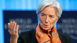 Lagarde'den bir iyi bir kötü haber