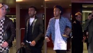 Barcelonalı oyuncuların giyimi alay konusu oldu