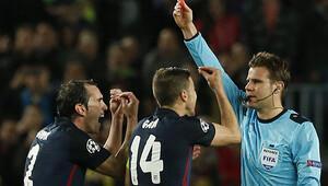 Barcelona maçına hakem damgası