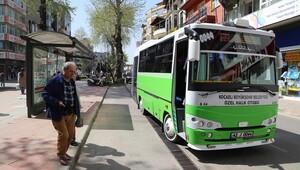Kocaeli'de otobüsler, 65 yaş üstü kişileri ve engellileri ücretsiz taşımaya son veriyor