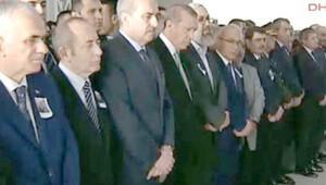 Şehit binbaşının cenazesine Cumhurbaşkanı Erdoğan da katıldı