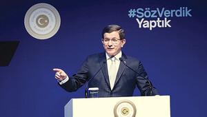 Davutoğlu önümüzdeki 3 ayda yapılacakları İstanbul'da açıkladı