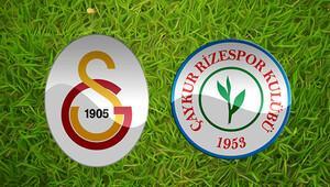 Galatasaray Çaykur Rizespor maçı ne zaman saat kaçta?