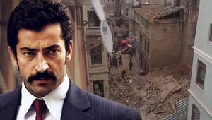 Beyoğlu'nda çöken bina Kenan İmirzalıoğlu'nun amcasının oğlu Burak Mirza'nın çıktı