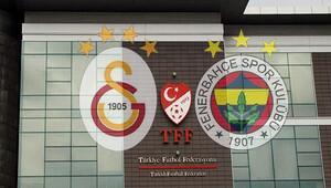 TFF Galatasaray ve Fenerbahçe'yi PFDK'ya sevk etti