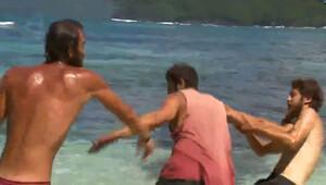 Survivor'da Zafer ve Semih kavgası böyle görüntülendi!