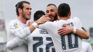 Real Madrid, Getafe'yi dağıttı