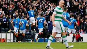 Rangers, Celtic'i penaltılarla eledi