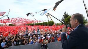 Erdoğan: Türkiye'ye gelecek para 1.8 milyar lira