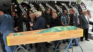 Kazım Koyuncu'nun babası son yolculuğuna uğurlandı