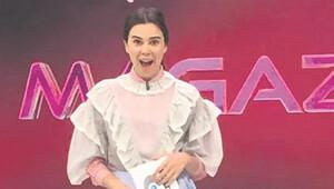 Asena Atalay'ın giydiği kıyafet olay oldu