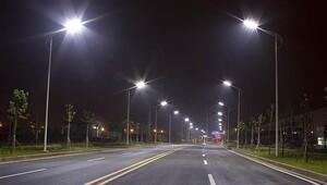Akıllı LED yol ışıkları ilk kez Kağıthane'de