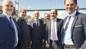 İstanbul Boğazı'nda Avrupa Birliği turu