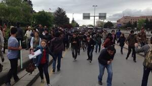 Ankara'da gergin dakikalar