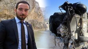 Ak Parti Gençlik Kolları yöneticisinin feci ölümü!