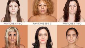 İnsan renklerinden Pantone kataloğu