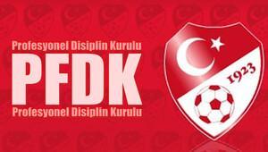 PFDK Süper Lig takımlarına ceza yağdırdı