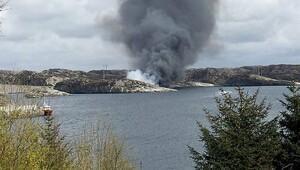 Norveç'te helikopter kazası