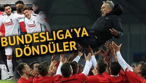 Freiburg, Bundesliga'ya yükseldi