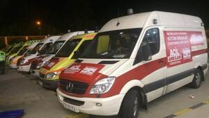 Sınırda ambulans krizi