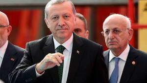 Erdoğan, amfibi hücum gemisi töreninde açıklamalarda bulundu