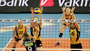 Bayanlar Voleybol 1'inci Lig'de Şampiyon Vakıfbank