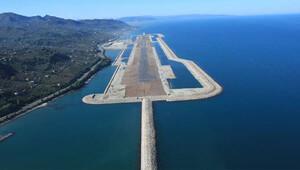 Denizdeki havalimanından yurtdışı uçuşları başlıyor