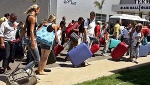 Rus turiste Yunanistan'da vize engeli