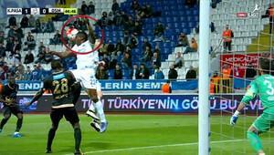 Kasımpaşa-Osmanlıspor maçında penaltı isyanı