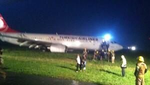 THY uçağı Priştine'de pistten çıktı
