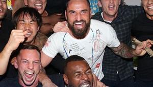 Leicester City'de görülmemiş sevinç