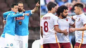 Napoli ve Roma, maçlarını kazandı