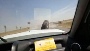 Şanlıurfa'da akılalmaz kaza
