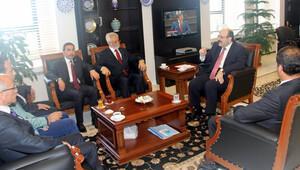YÖK Başkanı Güneydoğu'daki rektörlerle görüştü