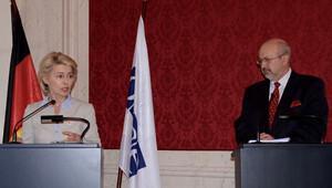 Almanya Savunma Bakanı Leyen, Viyana'da