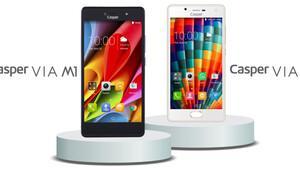 Casper'dan iki telefon birden: Casper VIA M1 ve Casper VIA E1