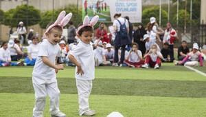 Özel çocuklar için 'Spor Oyunları'
