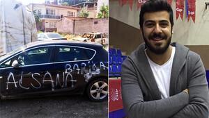 CHP'li Başkan'ın otomobiline boyalı saldırı