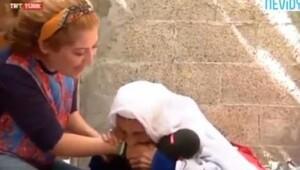 100 yaşındaki Filistinli nine TRT muhabirinin kolunu ısırdı, sosyal medya yıkıldı
