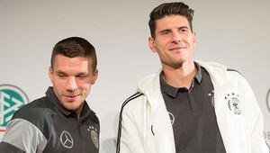 Derbide gözler Alman golcülerde