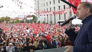 Erdoğan: Binlerce teröristi çukurlara gömdük