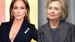 Hillary Clinton'dan Jennifer Lopez'e teşekkür