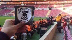 Beşiktaş taraftarı Arena'ya sızdı!