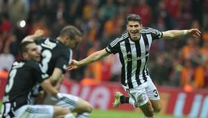 Galatasaray: 0 Beşiktaş: 1 (Maç özeti)