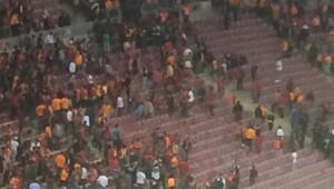 Maç bitti Arena karıştı