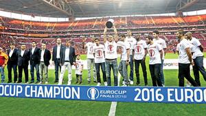Avrupa şampiyonu Arenada